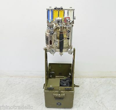 OHMEDA 885A Mobile Military Anesthesia Machine (12933/12939)