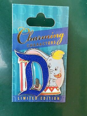 Disneyland pin of the month Charming characters Dumbo Disney pin