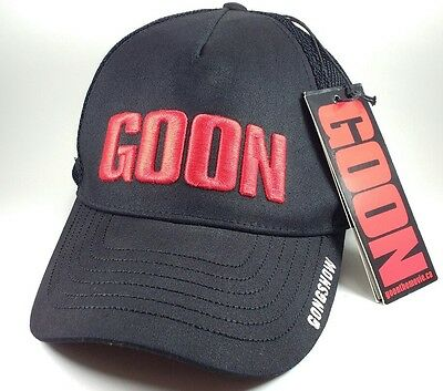 Gongshow Hockey GOON Movie Adjustable Snapback Hat Black NEW with Tags