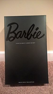 Haunted Beauty Zombie Bride Barbie Doll Collection Edition Gold Label NIB