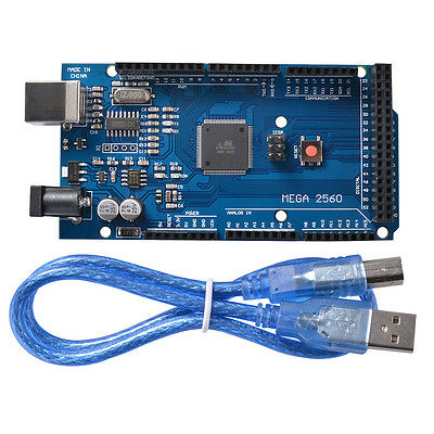 ATmega2560-16AU Development Module with USB Cable for Arduino Mega2560 R3 TE629