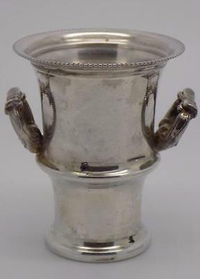 Vintage Solid Silver Mini Vase / Amphora - Stamped - Made in Italy