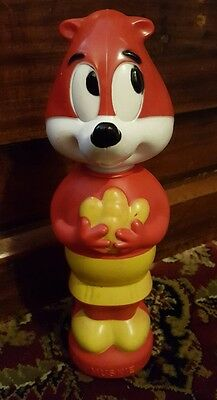1965 Colgate Palmolive CBS Terrytoons Muskie Soaky Character Figure Bath Toy