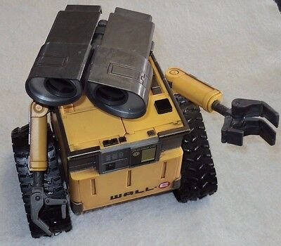 Thinkway Toys Remote Control Wall-E No Remote Large Size Interactive Disney