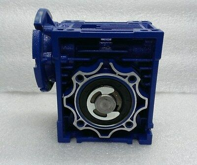 Motovario NMRV/050 Precision Worm Gearhead 20:1 Ratio Right Angle Gear Reducer