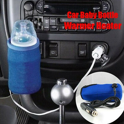 12V Baby Food Milk Water Drink Bottle Cup Warmer Heater Car Auto Travel Portable
