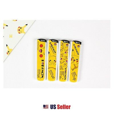 Nintendo Pokemon Pikachu B 0.5mm Mechanical Pencil Lead : Set of 4