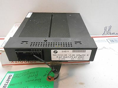 2003 BMW 325i HARMAN HARDON  AMPLIFIER AMP 65120692099601 692099601  QA0732