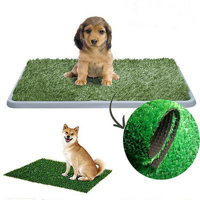 1pc Dog Cat Toilet Mat Indoor Potty Trainer Artificial Grass Turf Patch Pad Pet