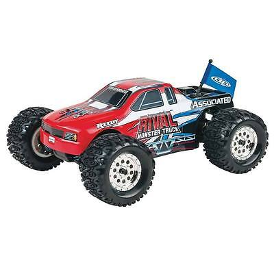 Associated RC 1:18 Scale Rival 4WD Monster Truck ASC20112 Red NEW
