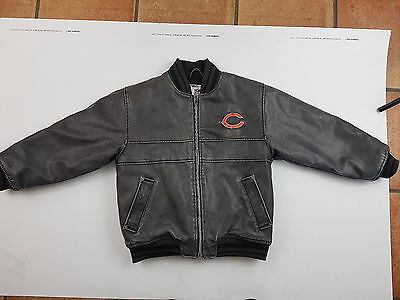 Vintage Official Chicago Bears NFL Youth Heavy padded Jacket B33