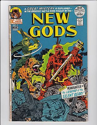 New Gods #7 1St Steppenwolf Vg+ Dc Comics Jack Kirby Justice League