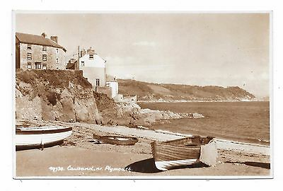 Super Real Photographic Postcard Cawsand Near Plymouth Cornwall