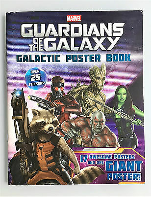 Guardians of the Galaxy Sticker & Poster Book, New,1 Giant Poster, 17 sml poster