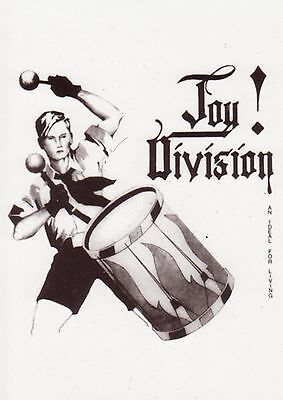 JOY DIVISION . An Ideal for Living . Postcard . WARSAW . Post Punk . NEUF NEW