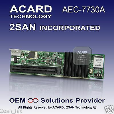 ACARD AEC-7730A 68-Pin LVD SCSI to SATA Bridge Adapter for HDD/SSD
