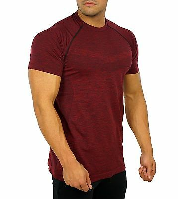 Alphalete Zenith Mens Top - Magma - Medium