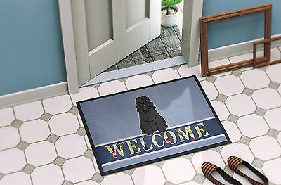 Bouvier des Flandres Welcome Indoor or Outdoor Mat 18x27
