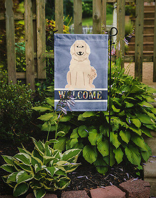 Carolines Treasures  BB5664GF Great Pyrenese Welcome Flag Garden Size