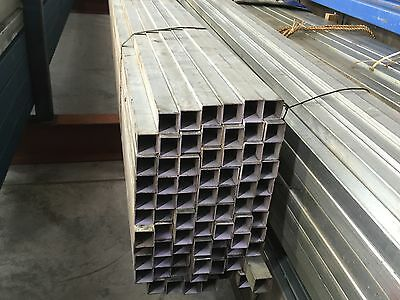square tube galvanised 50x50x1.6mm x 6.3mtrs
