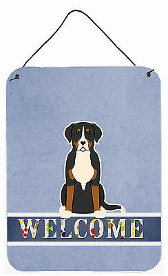 Greater Swiss Mountain Dog Welcome Wall or Door Hanging Prints