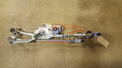 Audi A6 Front Wiper Motor With Linkage P/n 4G2955023A