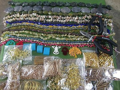 Lot Of Pieces To Prepare Jewelry