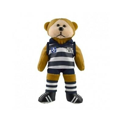 Geelong Cats Heritage Player Bear  - Official AFL Beanie Kid 21cm