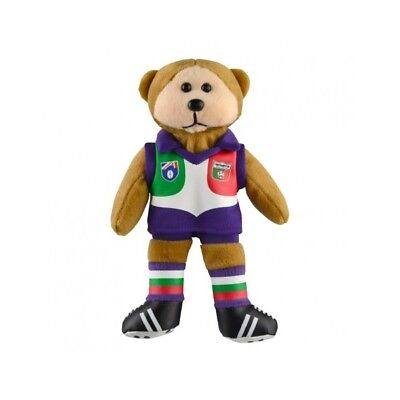Fremantle Dockers Heritage Player Bear  - Official AFL Beanie Kid 21cm