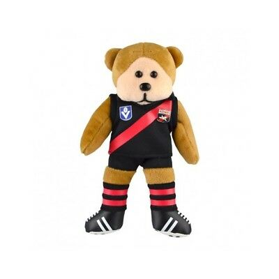 Essendon Bombers Heritage Player Bear  - Official AFL Beanie Kid 21cm
