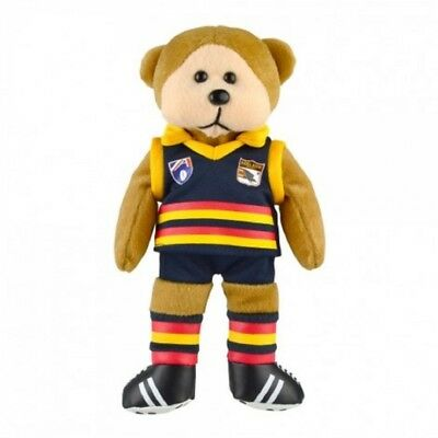 Adelaide Crows Heritage Player Bear  - Official AFL Beanie Kid 30cm