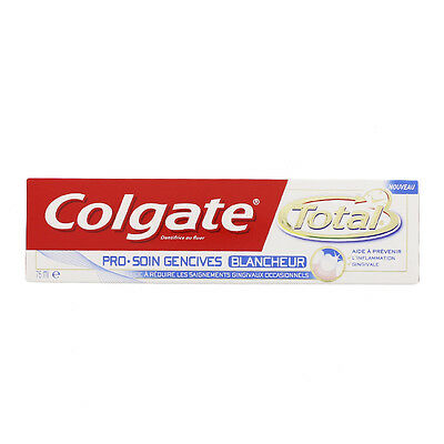 Colgate Total Pro Dentifrice 75 ML Soin Gencives Blancheur