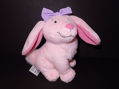 Clifford Puppy Days Daffodil Pink Bunny Rabbit Bow Plush Scholastic 2004 Easter