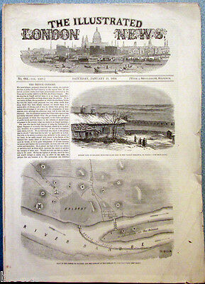 1854 Illustr. LONDON NEWS mag.THE EMPEROR NICHOLAS and THE HOUSE OF ROMANOFF