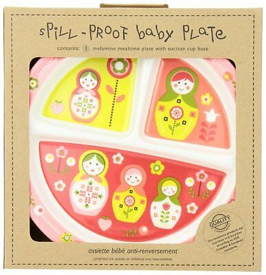 Sugarbooger Divided Suction Plate, Matryoshka Doll...NEW