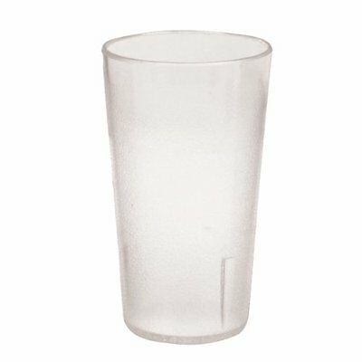 12 Ounce Restaurant Tumbler Beverage Cup, Stackable Cups, Break-Resistant ...NEW