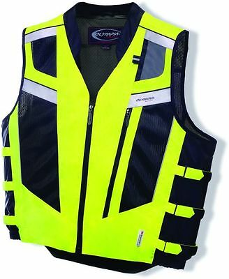 Olympia Blaze Hi-Viz Safety Vest (MV306) Neon Yellow Medium/Large MV306Z-ML