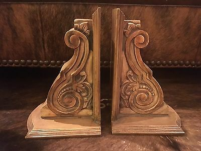 Architectural Distressed Southern Living At HOME Carved Corbels~Set of 2