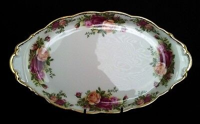 """Royal Albert """"old Country Roses""""  Plate English Vintage"""
