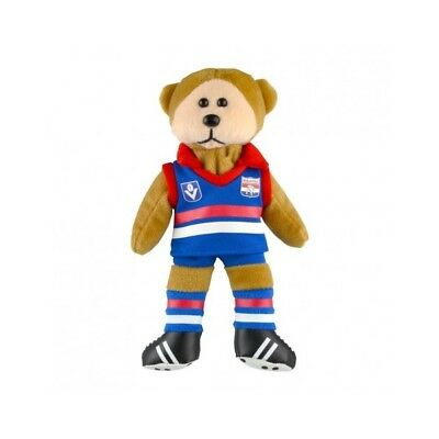 Western Bulldogs Heritage Player Bear  - Official AFL Beanie Kid 21cm