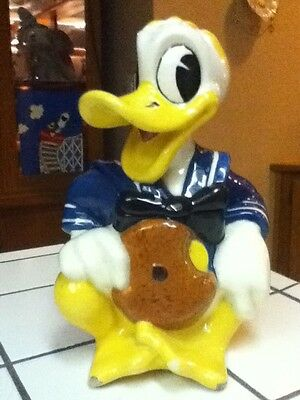 Very Rare  Donald Duck Cookie Jar. Especially Made  Walt Disney Executives only