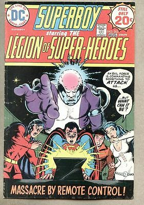Superboy #203-1974 fn- Legion Of Super-Heroes Mike Grell