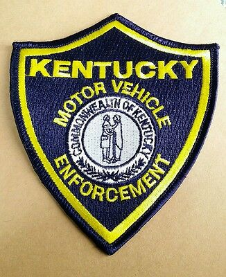Kentucky Motor Vehicle Enforcement (Police) Shoulder Patch Ky