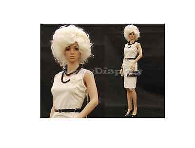Mannequins Full Body Commercial Industrial Fashion Women Clothing Glass Base NEW