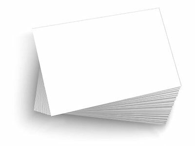 "50 Blank 4""x6"" Heavy Duty 14pt Index Cards, Postcards"