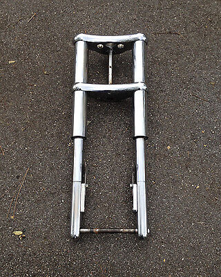 Spykes Spyke Harley Inverted Forks Front End 63Mm Chrome Softail Fxrs Chopper