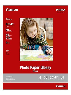 CanonInk Photo Paper Glossy Letter Size, 50 Sheets 8649B003