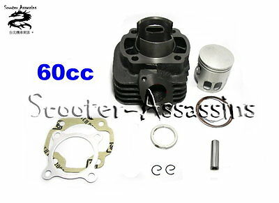60cc BIG BORE CYLINDER KIT for BUG Jive 50