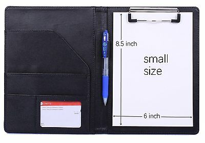 Small Size A5 Clipboard Folder Clipboard Padfolio for Refillable Writing Pad 6""