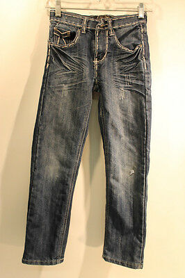 City Ink Youth (Girls) Distressed Jeans Size 8 In Excellent Used Condition